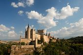 image of zar  - The famous Alcazar of Segovia in Spain - JPG