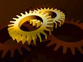 Gears In Yellow