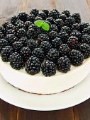 Blackberry Cheesecake