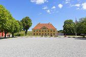 17Th Century Citadel, Kastellet, View On Commanders House, Copenhagen, Denmark poster