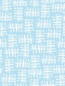 Abstract Geometric Seamless Vector Print. Cute Blue And White Grid Repeatable Prints Ideal For Fabri poster