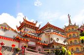 Buddhist temple Kek Lok Si  (The Temple of Supreme Bliss), Georgetown, Penang island, Malaysia poster