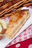 picture of nic  - Delicious slice of home made apple pie - JPG