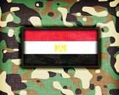 pic of ami  - Amy camouflage uniform with flag on it Egypt - JPG