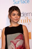 LOS ANGELES - OCT 28:  Sarah Hyland at the Modern Family on USA Network Fan Appreciation Event at Vi