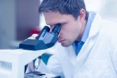 stock photo of scientific research  - Close - JPG