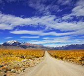 picture of pampa  - The endless pampas in Patagonia - JPG