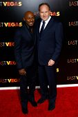 NEW YORK- OCT 29: Actor Romany Malco and director Jon Turteltaub attend the premiere of 'Last Vegas'