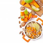 image of lenten  - Oatmeal with pumpkin - JPG