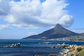 Beautiful Camps Bay Beach And Lion Head Mountain