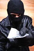 picture of drug dealer  - Drug dealer selling heroin or cocaine mafia - JPG