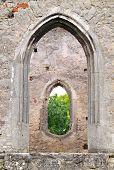 Medieval Gothic Stone Frames poster