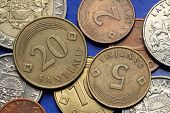 image of lats  - Coins of Latvia - JPG