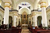 Church Interior In Puerto Vallarta, Jalisco, Mexico