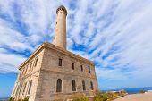 pic of manga  - Cabo de Palos lighthouse near Manga Mar Menor Murcia at Spain - JPG