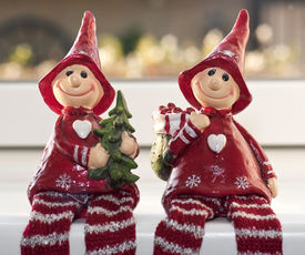 image of tinkerbell  - Christmas elves joint together by love at Christmas - JPG