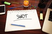 pic of swot analysis  - SWOT for strengths weaknesses opportunities and threats  - JPG