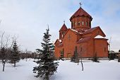 image of apostolic  - The first Armenian church in the Urals Federal District - JPG