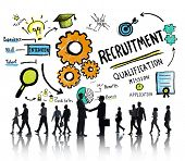 picture of communication  - Business People Communication Recruitment Recruiting Concept - JPG
