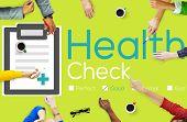 stock photo of medical condition  - Health Check Diagnosis Medical Condition Analysis Concept - JPG