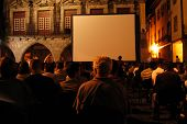 foto of matinee  - cinema on the street - JPG