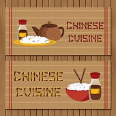 picture of chinese menu  - Template for booklet - JPG