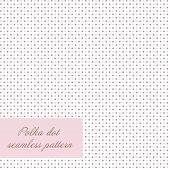 stock photo of dots  - Seamless polka dot background - JPG