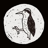 picture of pecker  - Woodpecker Doodle - JPG