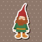 stock photo of elf  - Elf Theme Elements - JPG