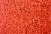 image of stippling  - Abstract Red ceiling stipple effect paint background - JPG