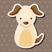 picture of chinese zodiac  - Chinese Zodiac Dog Theme Elements - JPG