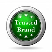 pic of trust  - Trusted brand icon - JPG