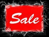 Sale Logo. Sales Discount Voucher. Sale Icon Template poster