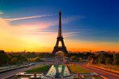 Постер, плакат: Париж Франция