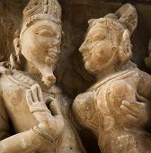 foto of kamasutra  - Temples at Khajuraho - JPG