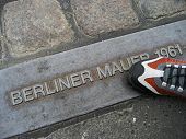 Berlin Wall - Historic Step poster