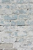pic of arriere-plan  - A white roughly textured brick wall painted with white paint - JPG