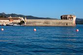pic of martello  - The Linguella Tower also known as Martello Tower is a tower located in Portoferraio Elba Island - JPG