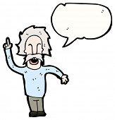 image of einstein  - cartoon einstein character - JPG