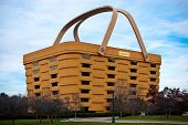 Newark, Ohio, USA - November 19, 2012: The Basket Shaped Longaberger Company Home Office