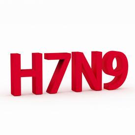 image of avian flu  - H7N9 flu virus concepts new flu virus outbreak in china - JPG