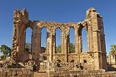 The Gothic ruins of the Church of St John in Famagusta (Gazimagusa) in Cyprus.