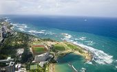 picture of tierra  - Aerial view of the Northern side of Puerto Rico - JPG
