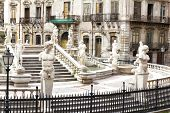 picture of shame  - Palermo Piazza Pretoria also known as the Square of Shame Piazza della vergogna - JPG
