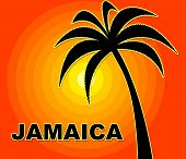 picture of jamaican  - Jamaican Holiday Showing Go On Leave And Time Off - JPG