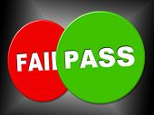 picture of passed out  - Pass Sign Representing Passed Endorsed And Assurance - JPG