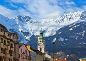 image of winter palace  - Old town in Innsbruck Austria  - JPG