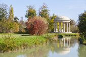 pic of versaille  - The Temple of Love in the gardens of Trianon Versailles France - JPG