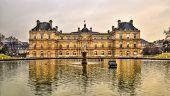 picture of senators  - Palais du Luxembourg - Senate of France - Paris ** Note: Visible grain at 100%, best at smaller sizes - JPG