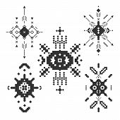 pic of tribal  - Vector Tribal elements - JPG